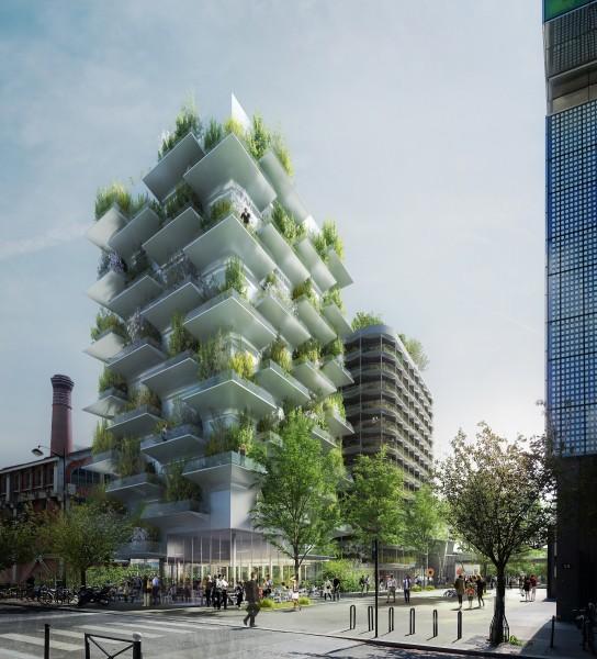 Un exemple d'un des projets retenus (Photo : X-TU architectes).